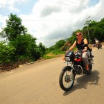 Random German lady living in India...for riding with me into the countryside of Udaipur. 7/20/10