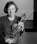 Linda Laderach: My violin instructor who has been so helpful with tips on safe travelling for women and for pointers on things to check out in all of the places that I will be going. She has also been extremely helpful in constructing my budget for such a trip.