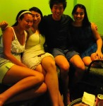 Lillian Ying and Andrea Lee...for meeting me for dinner in Singapore only hours before my flight back to NYC. 8/11/10