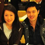 Michelle Tam and her boyfriend Joe...for meeting me for a quick, last-minute dim sum brunch nearly an hour after I landed in Hong Kong. See you in Vancouver! 12/18/10