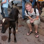 Pieter...for taking care of and keeping Stephanie Quan company while she was down and out in Varanasi. See you in Holland! 07/06/11.