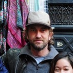 Gerard Butler...for running into us twice; once in the maze of Marrakech's medina and the second time at the airport. Thank you for your down-to-earthness in asking us how our trip was going, being gracious enough to take a group photo and for following up on our blog afterwards! 01/02/12.