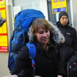 Catherine Donnor...for befriending us at Lviv bus station at 5:30am in the morning, for letting us tether your phone as a wireless hub, and for showing us the way to Lviv train station so we could drop off our bags. 12/29/12.