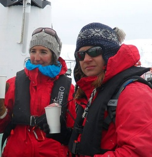 The Guides of Oceanwide Expeditions...for leading our way through Antarctica and being patient with us when we got way too close to the penguins! 12/13/13.