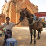 Shan and your horse Tutu...for helping us see all of Bagan's big temples in one day. 07/30/11.