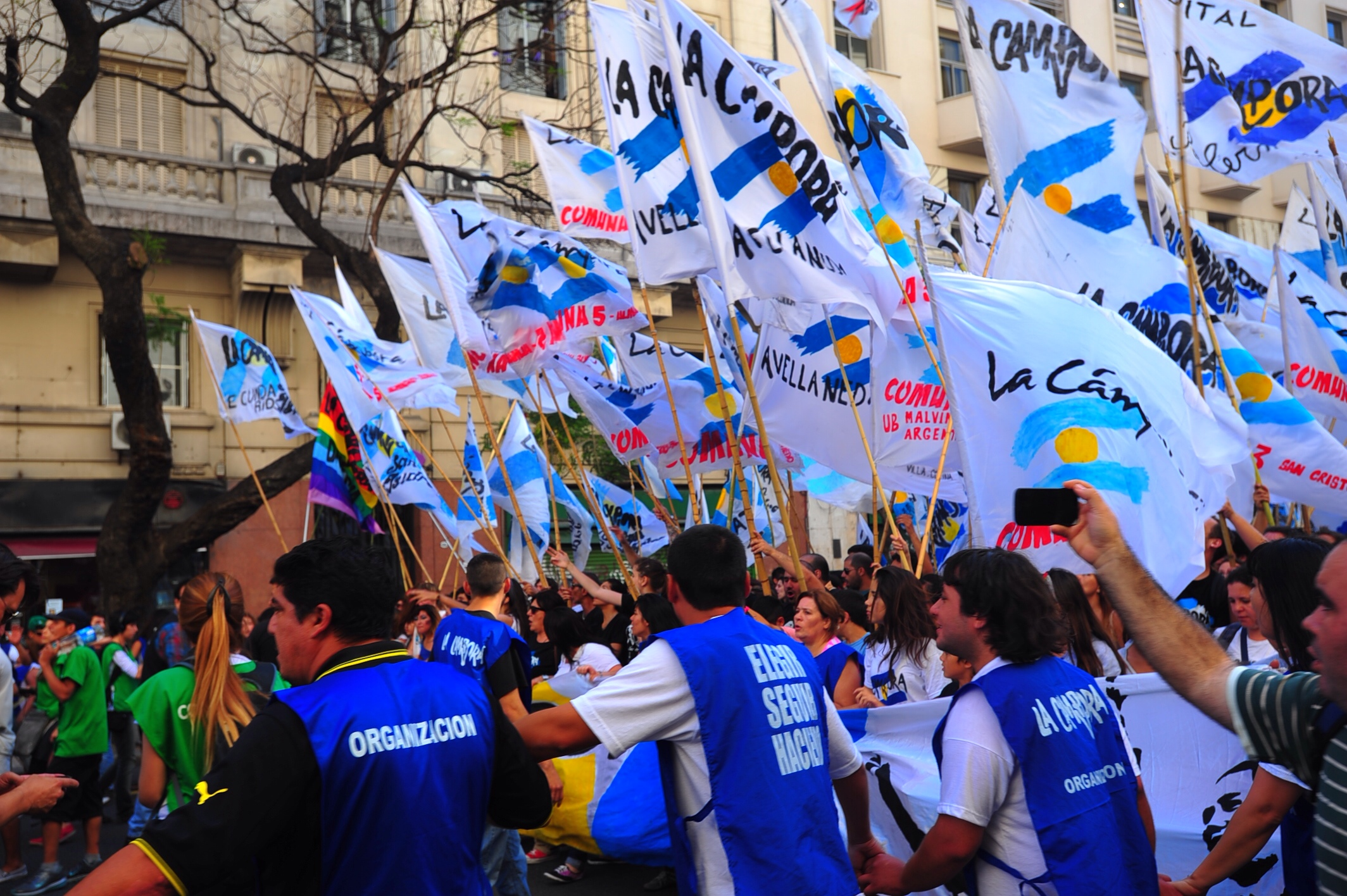 A Buenos Aires Afternoon On Human Rights Day